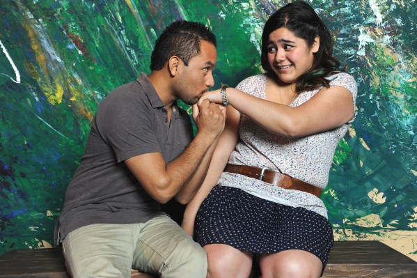 "J. Adan Ruiz and Angelina Orellana will act in ""In and Out of Shadows."" Photo Katia Fuentes/Courtesy of The Marsh Theater."