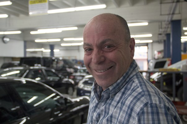 Nissim Ninio, proprietor of West Wind Automotive on Valencia, says business has been picking up.