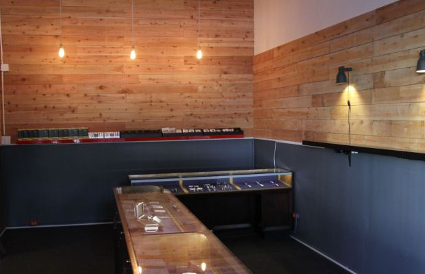 Cedar walls and glass cases can be found at the Vapory Shop, the Mission's newest e-cigarette store.