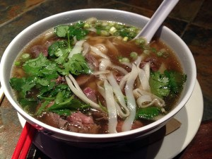 Pho for $13.  Cash only!