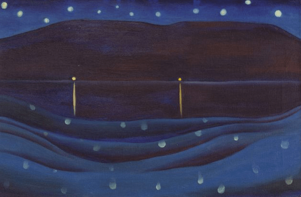 Starlight Night, Lake George, 1922.