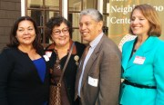 From left to right: Dolores Terrazas, Children Services Division Director at MNC; Santiago Ruiz, MNC Executive Director; and Michele Rutherford, Deputy Director of the new San Francisco Office of Early Care and Education celebrated MNC's becoming a federal Head Start grantee. Photo by Laura Wenus