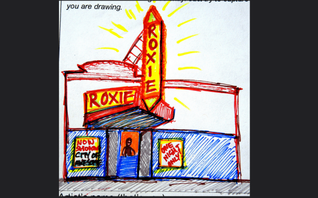 """Drawing from City of Awesome event. Photo courtesy of <a href=""""https://www.flickr.com/photos/theartdontstop/"""">Todd Berman</a>."""