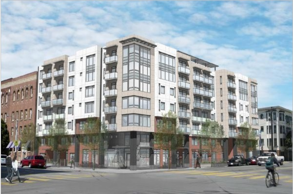 Rendering of the plans for 490 South Van Ness. Image courtesy Forum Design Architects.