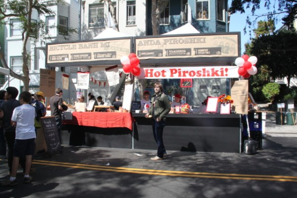 More than 85 vendors had booths at the food festival, covering a mile of Folsom Street from 20th to 26th. Photo by Joe Rivano Barros
