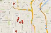 Crime map from September 29th, 2014.