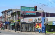 "A billboard on Mission and Valencia streets advertising an ""abortion pill reversal ."" It was paid for by an antiabortion group. Photo by Christiano Valli."