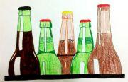 crime recap beer bottles