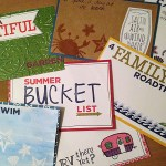 Mini Card Bucket List