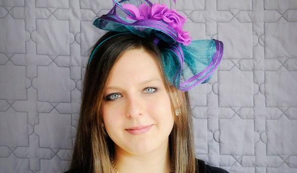 Friday Feature | Turquoise/Fuschia Fascinator