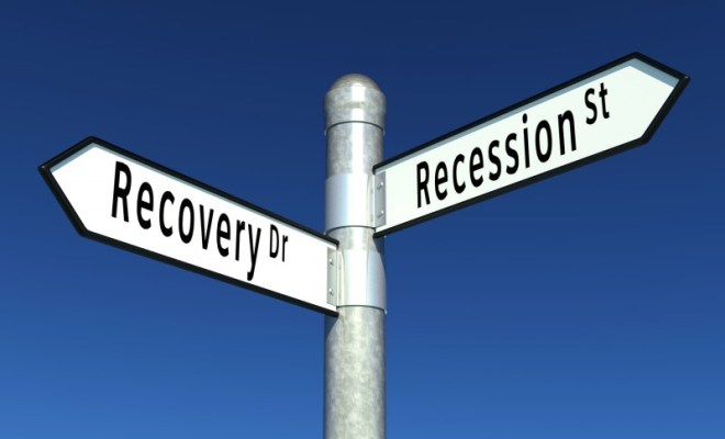 recovery, recession signs