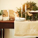 Christmas Burlap Runner