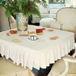 Card Table Slipcover