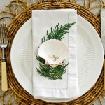 Coastal-Chic Holiday Table