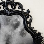 Ghostly Antiqued Mirror
