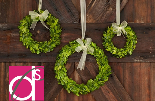Preserved-Boxwood-Wreaths-with-Ribbon-Trim-decor-steals-one-deal-a-day