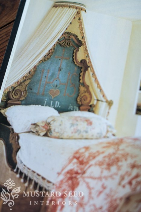 bavarian hand painted bed | miss mustard seed's inspiration