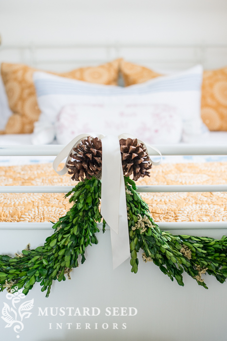 boxwood garland | miss mustard seed
