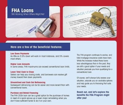 Benefits of the FHA loan - Blog - Columbia MO | USA Mortgage