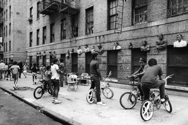 Block Party at Walton Avenue; Photo courtesy of John Ahearn.