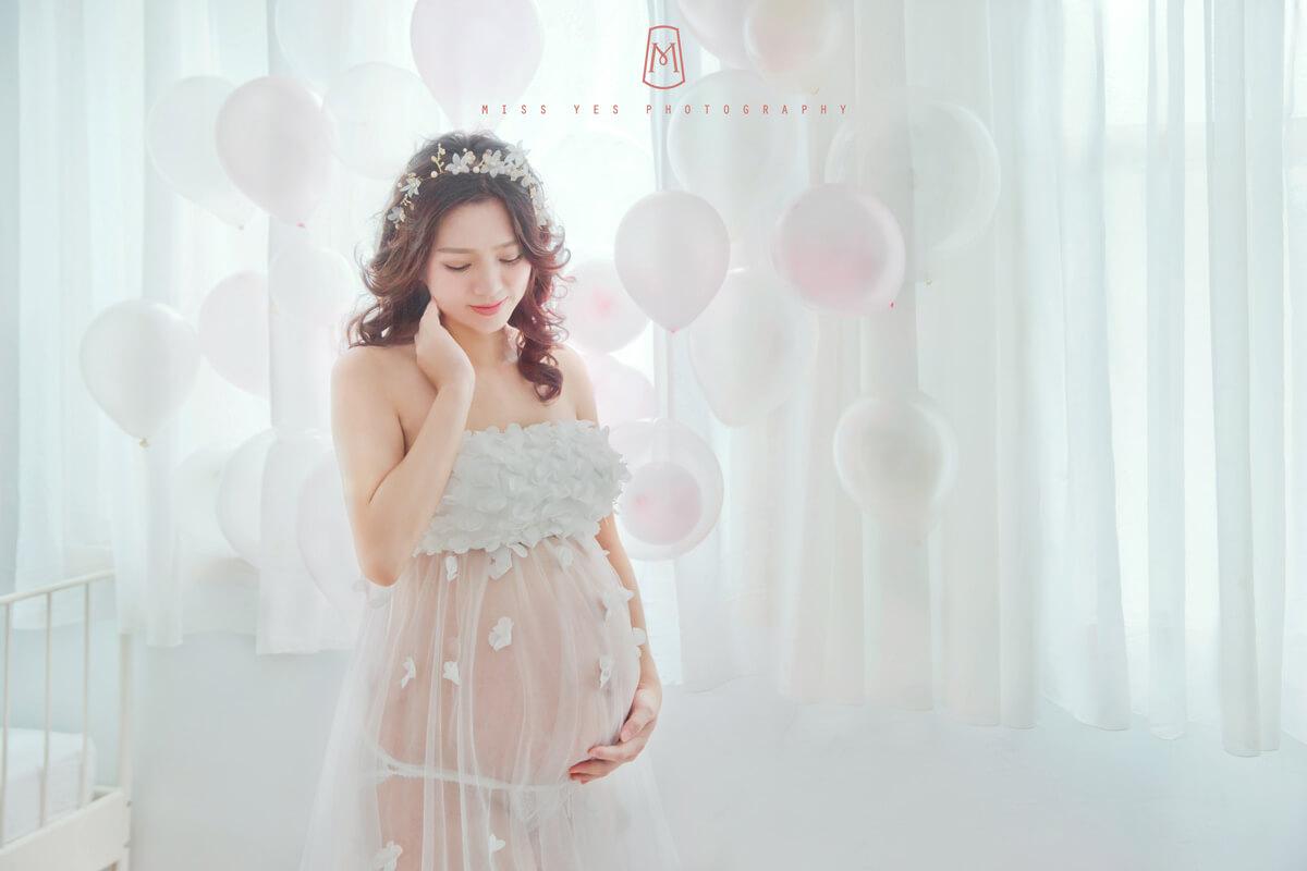 孕媽咪,孕婦寫真,女攝影師,毛小孩