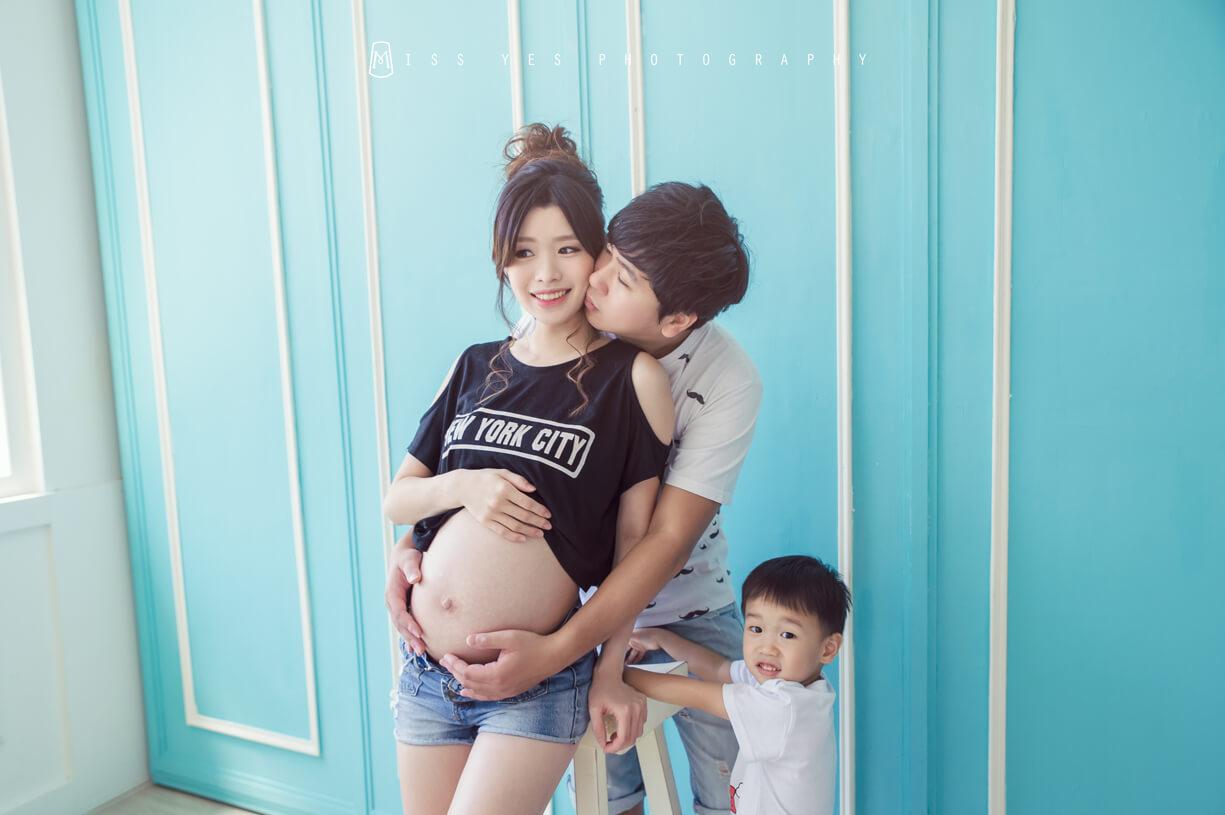 孕婦寫真,女攝影師,孕媽咪,大寶,明星臉
