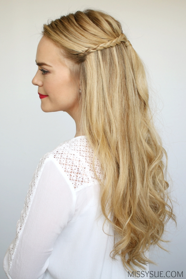half-up-braids-beach-curls-hairstyle