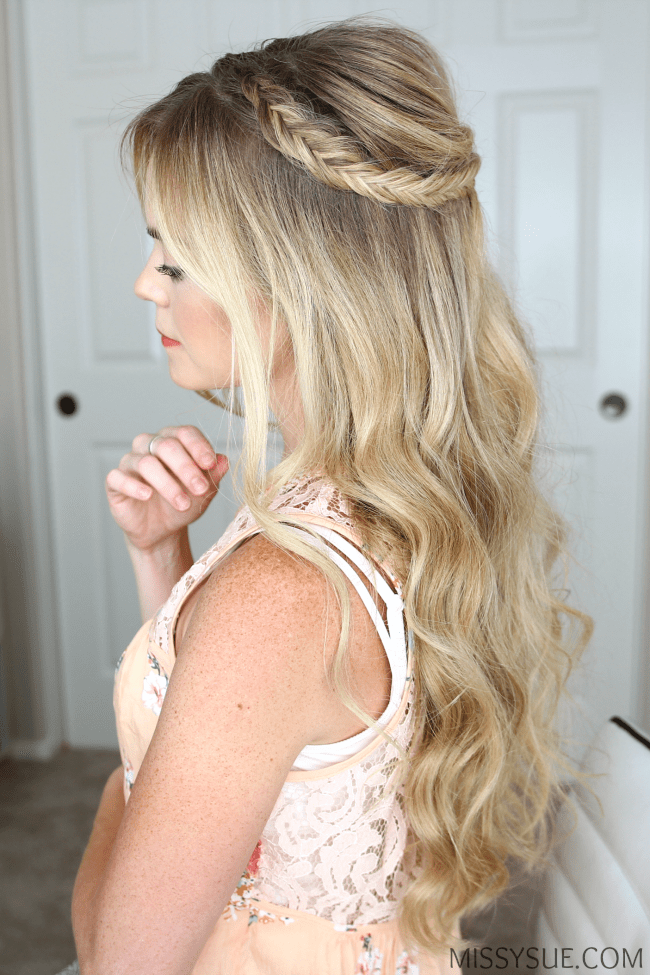 half-up-fishtail-braids-hairstyle