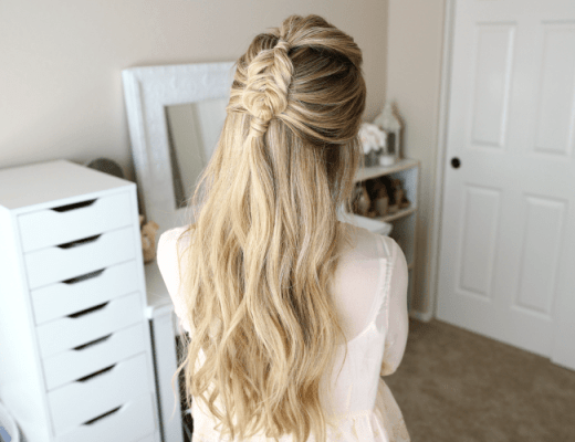 half-up-mini-dutch-fishtail-braid-hairstyle