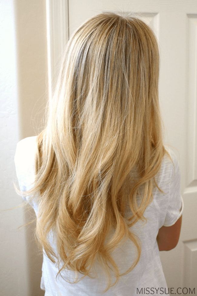 How to Blowdry Hair + Soft Waves