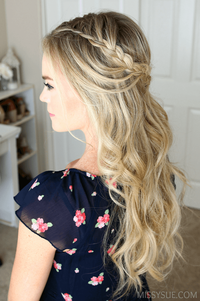 Looped Boho Braids 2 Ways