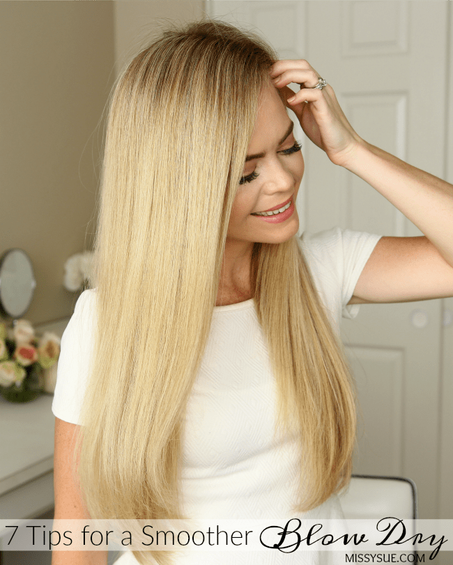 7 Tips for a Smoother Blow Dry