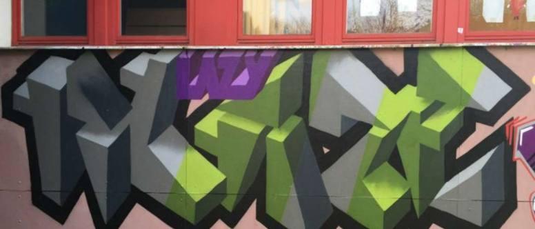 Graffiti in Altona Nord