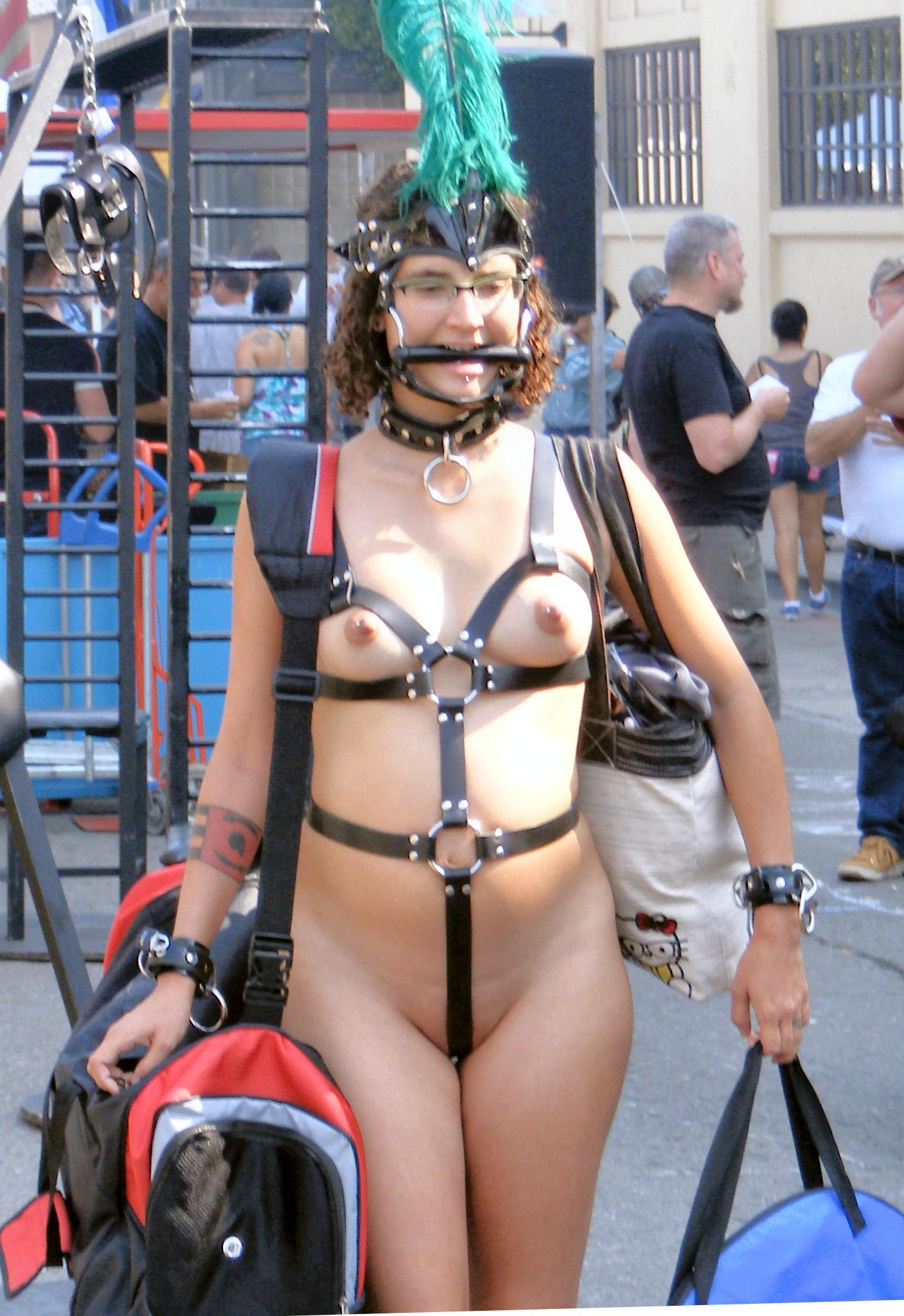 butt plug pet girl bondage