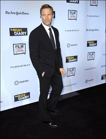 Aaron Eckhart  Mr. Dapper