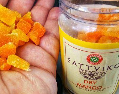 sattviko dry mango