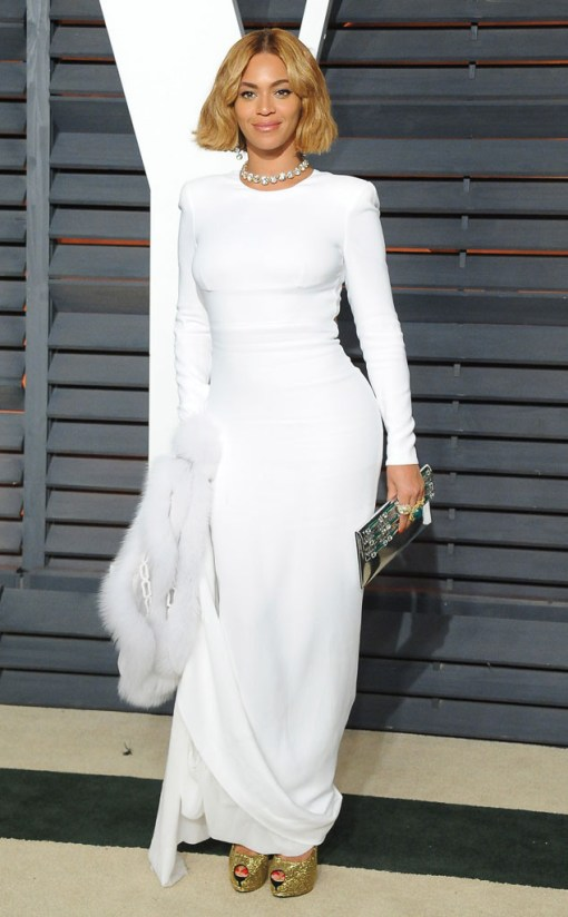 Beyoncé vestido after party oscar 2015