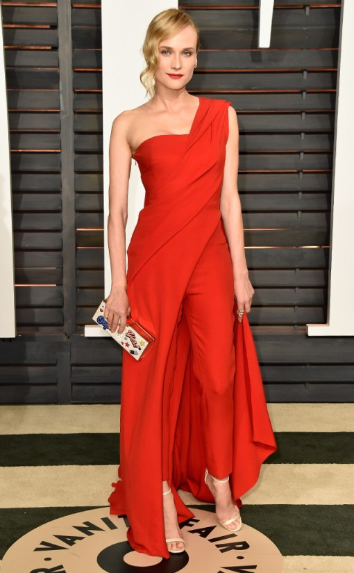 Diane Kruger vestido after party oscar 2015