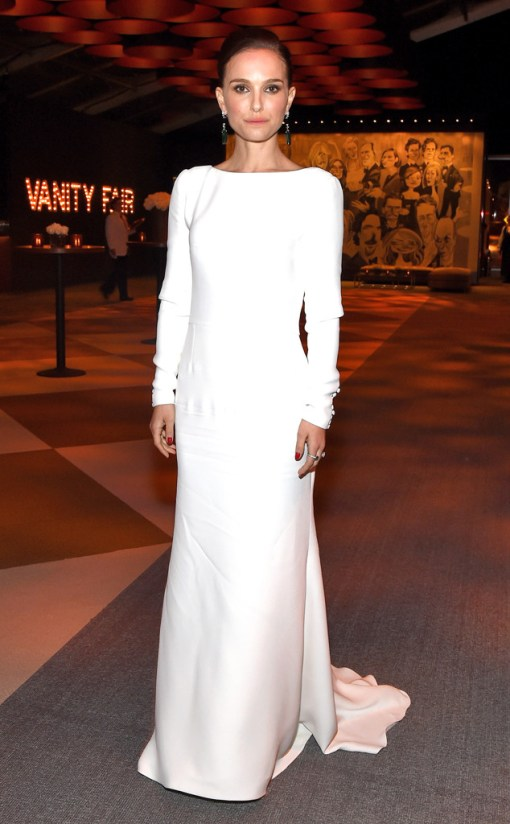 Natalie Portman vestido after party oscar 2015