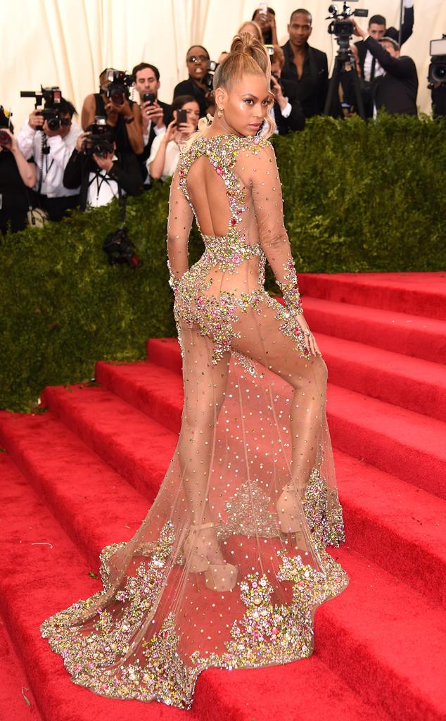 Beyonce Look Baile Met 2015