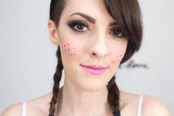 Karen Bachini maquiagem festa junina