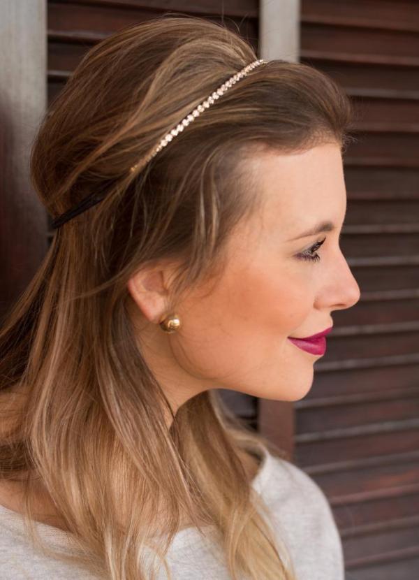 Headband strass Manias de Marcellla por Mel Campo