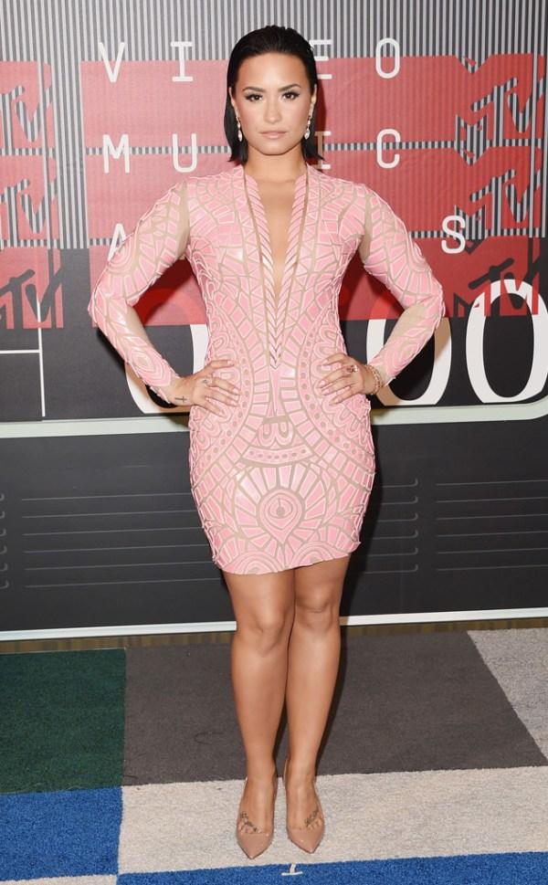 look Demi Lovato VMA 2015