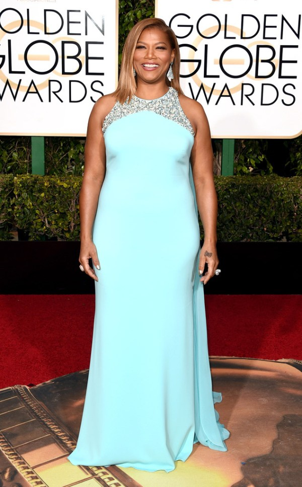 look golden globe awards 2016 queen-latifah