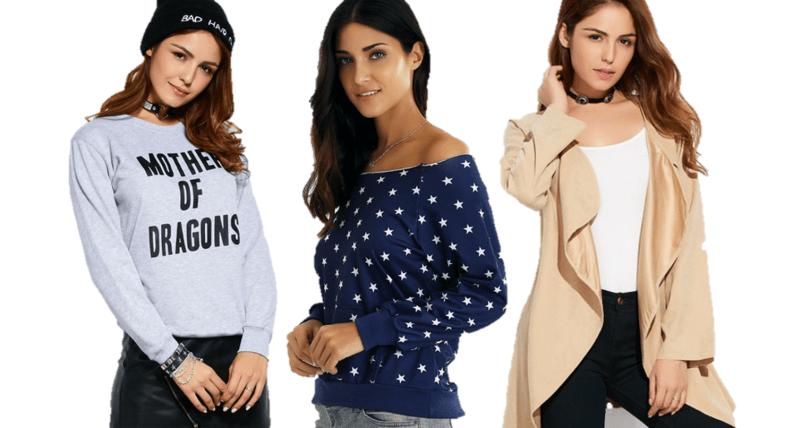 blusas e jaquetas estilosas e diferentes