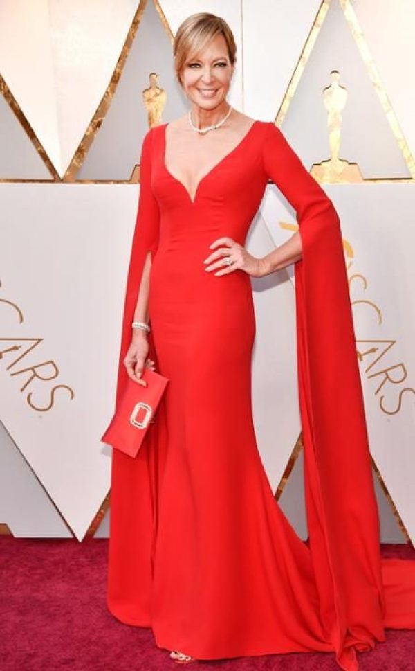 Os melhores looks do Oscar 2018 vestido allison janney