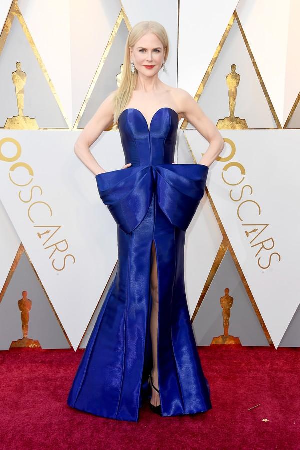 Os melhores looks do Oscar 2018 vestido nicole kiman