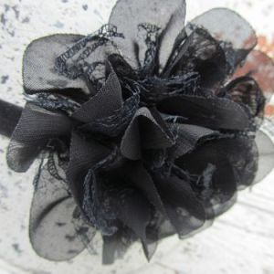 Haarbandje Black Bloom