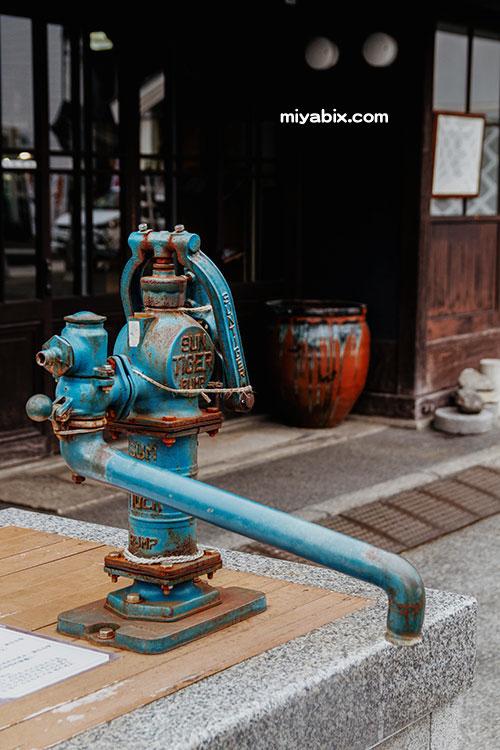 井戸水,ポンプ