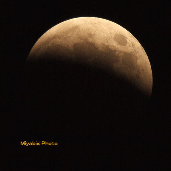 皆既月食,2014年10月8日